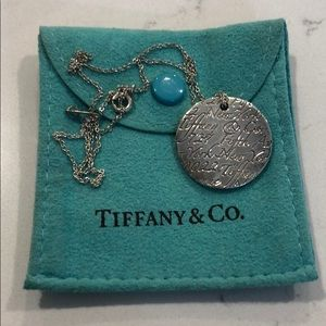 Tiffany & Co Round Fifth Avenue Necklace